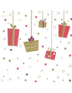 Servilletas de papel decoradas navidad 33 x 33 cm X-mas