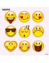 Servilletas de papel decoradas Happy Smiley 33 x 33 cm