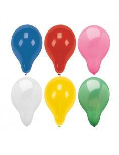 Globos de colores surtidos decoración fiesta Ø 28 cm