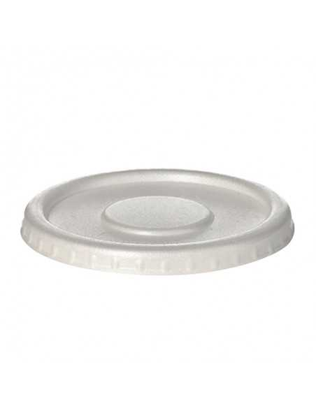 Tapas redondas para tarrinas XPS color blanco Ø 13cm
