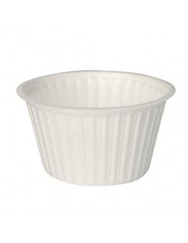 Tarrinas sopa take away redondas color blanco XPS 460 ml