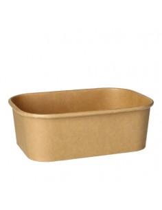 Envases de cartón marrón rectangulares 750 ml 100% Fair