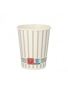 Vasos cartón Gin Tonic especiales color blanco plata 400ml