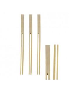 Brochetas pinza madera de bambú 18cm Pinch