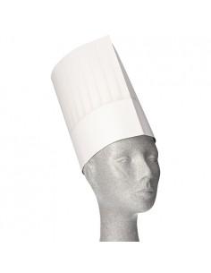 Gorros altos de cocinero...