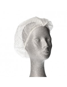 Redes para cabello vellon aspecto tela blanco modelo clip Ø 30 cm