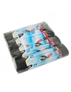 Sacos de basura plástico color negro 240 litros