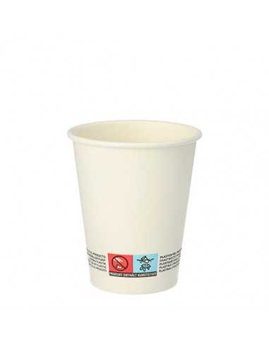 Vasos de cartón blanco bebidas calientes To Go 200ml