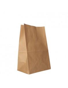 Bolsas de papel kraft marrón sin asas 29,5 x 19 x 12 cm