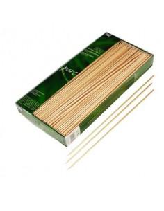 Pinchos para brochetas madera abedul Ø 3 mm x 30 cm