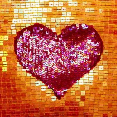 Servilletas papel decoradas impresión fotográfica corazón 33 x 33 cm