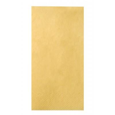 Servilletas Color Amarillo 3 capas 40 cm x 40 cm