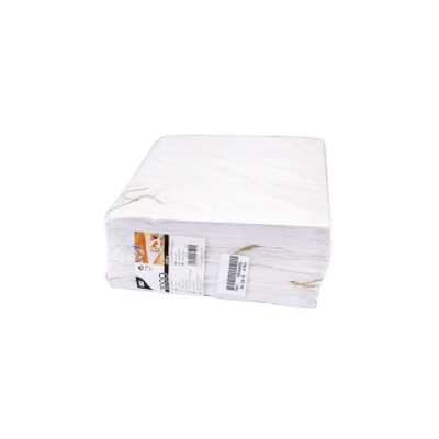 Bolsas cónicas de papel blanco para fritos 125gr