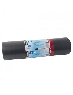Sacos de basura plásstico reciclado color negro 120l