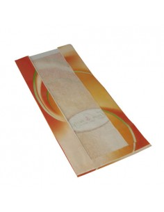 Bolsas panadería papel con ventana papel impresas