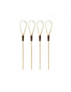 40 Pinchos de Bambú de 10cm...