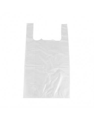Bolsas Camiseta Plástico Blanco HDPE...