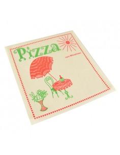 Bolsas papel antigrasa pizza impresas 30 x 30 cm