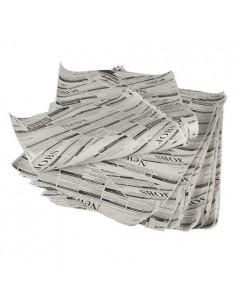 Hojas papel para envolver antigrasa impresas prensa 35 x 25 cm