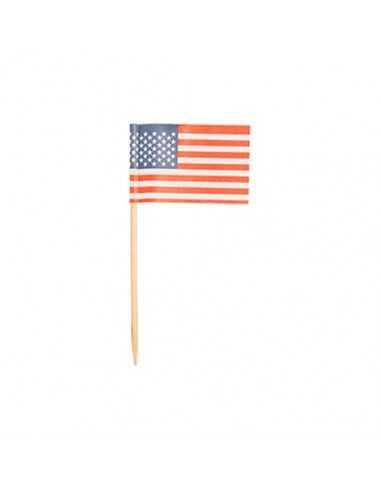 Palillo Bandera Americana Papstar 16657