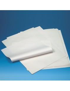 Hojas papel para envolver celulosa color blanco 50 x 37,5 cmcelulosa color blanco 50 x 37,5 cm