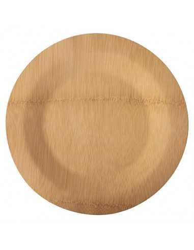 Platos Bambú Redondos Pure Ø 28 cm