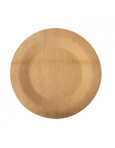 Platos de bambú redondos Pure Ø 23 cm