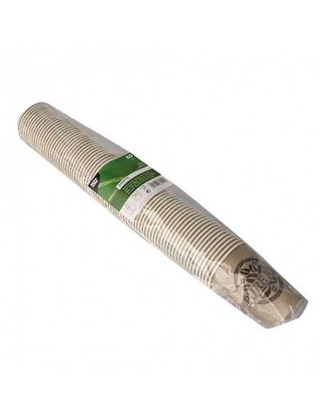 Vasos cartón compostables Pure Joy Gris Pardo 180ml