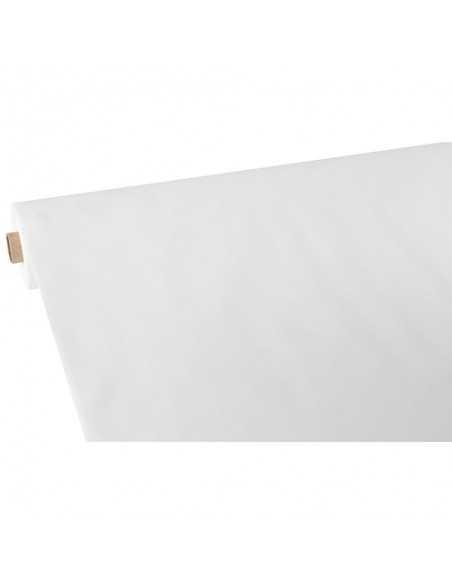 Mantel papel aspecto tela color blanco Soft Selection Plus 40 x 1,18 m