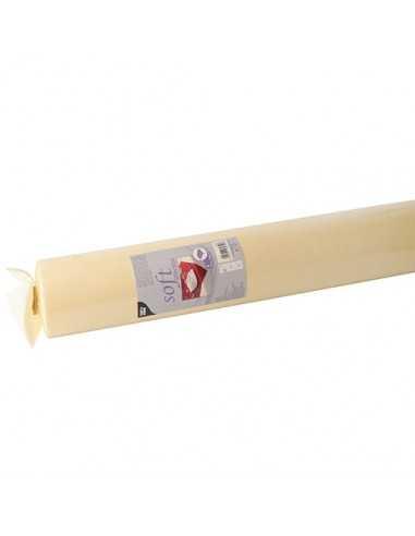 Mantel papel aspecto tela color crema rollo 25 x 1,18 m Soft Selection