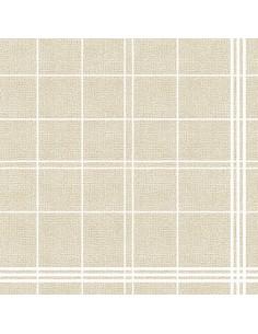 Servilletas papel aspecto tela beig 40 x 40 cm Royal Collection