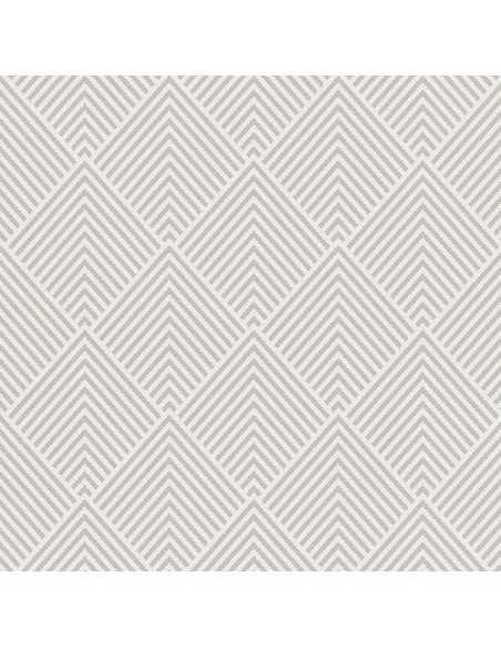 Servilletas de papel decoradas color gris 40 x 40 cm Royal Collection Elegance