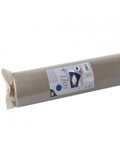 Mantel papel aspecto tela gris Soft Selection Plus 25 x 1,18 m
