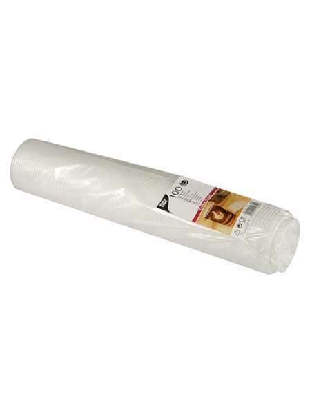 Tapas para vasos cartón en plástico color blanco To Go Ø 8 x 2 cm