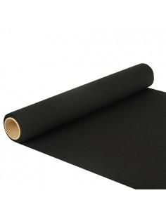 Camino de mesa papel color negro 5 x 40 cm Royal Collection