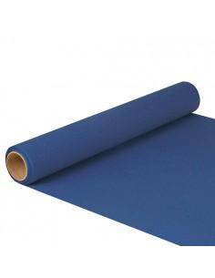 Camino de mesa papel color azul oscuro 5 m x 40 cm Royal Collection