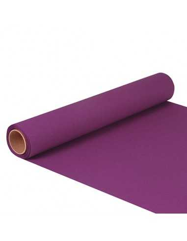 Camino de mesa papel color morado 5 m x 40 cm Royal Collection