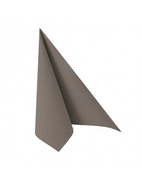 Servilletas de papel color gris 33 x 33 cm Royal Collection