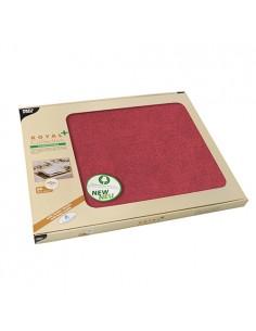 Mantelitos individuales papel lavables color burdeos Royal Collection Plus 30 x 40cm