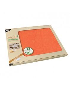 Mantelitos individuales papel aspecto tela color naranja Soft Selection Plus 30 x 40cm