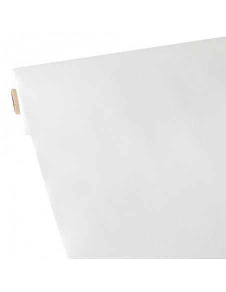Mantel papel aspecto tela color blanco rollo 40 x 1,18 m Soft Selection