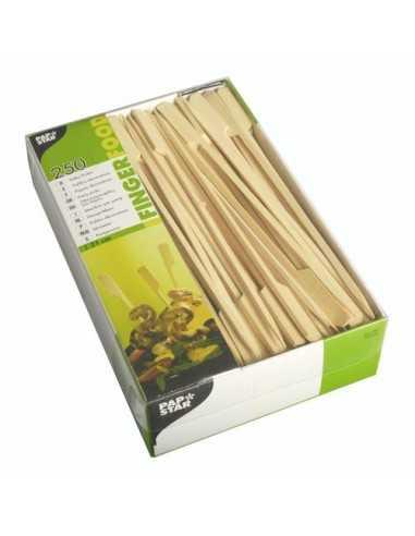 Brochetas madera bambú para barbacoa modelo golf largas 21cm