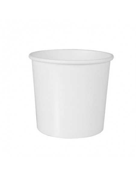 Tarrinas soperas de cartón blanco To Go 470 ml