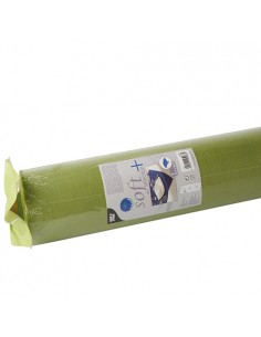 Mantel Aspecto Tela Tejido sin Tejer Color Verde Oliva Soft Selection Plus 25 x 1,18 m