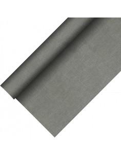 Mantel papel aspecto tela color gris Royal Collection Plus 20 x 1,18 m