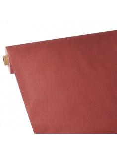 Mantel Aspecto Tela Tejido sin Tejer Soft Selection Plus Color Rojo 25 x 1,18m