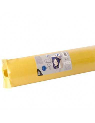 Mantel Aspecto Tela Tejido sin Tejer Soft Selection Plus Amarillo 25 x 1,18 m