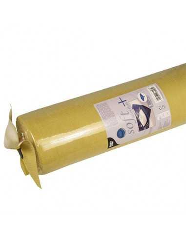 Mantel papel aspecto tela dorado Soft Selection Plus 25 x 1,18 m