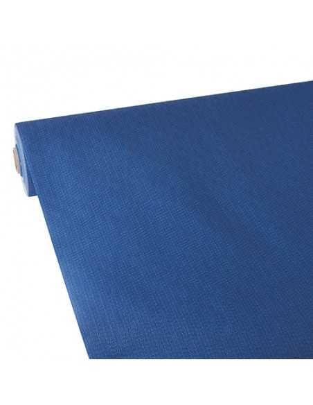 Mantel papel aspecto tela azul oscuro Soft Selection Plus 25 x 1,18 m