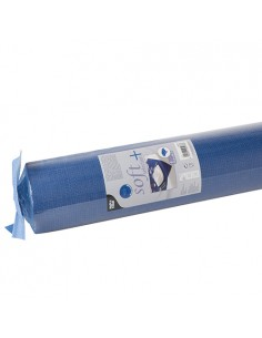 Mantel papel aspecto tela azul oscuro Soft Selection Plus 25 x 1,18 m